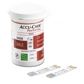 Bandelettes réactives pour glucomètre  ACCU-CHEK Performa (Boîte de 50)