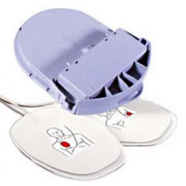 Electrodes adulte pour défibrillateur Heartsine Samaritan PAD (padpak)