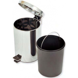 Poubelle 12 litres Inox