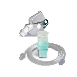 Kit nébulisation et masque compatibles pour nébulisateurs aerosols CompAir Omron