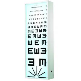 Echelle optométrique lumineuse Test Armaignac 5m