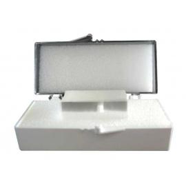 *Lamelles couvre objet KNITTEL GLASS pour microscope (Boîte de 100)