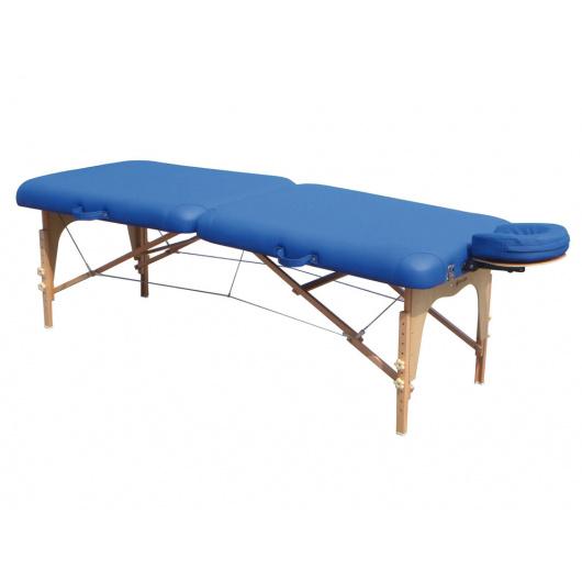De Appui Tête Wood Plus Table Avec Massage Bleu Pliante En Bois QsdxhrCtBo