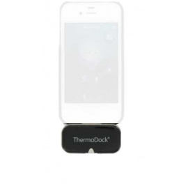 *Thermomètre frontal infrarouge sans contact pour  Ipad Ipod Iphone Medisana ThermoDock (Déstockage - ni repris / ni échangé)