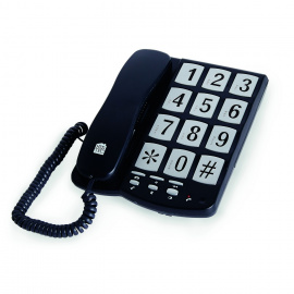 *Téléphone fixe à touches extra-larges