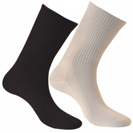 Paire de chaussettes pour diabétiques