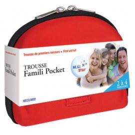 *Trousse premiers secours Famili Pocket - pleine (pour 2 à 4 personnes) (Déstockage)