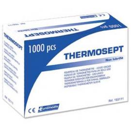 *Protège-thermomètre à usage unique Thermosept (boîte de 1000) (Déstockage - ni repris / ni échangé)