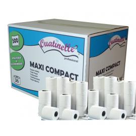Papier toilette blanc Ouatinelle Maxi compact (36 Rouleaux)