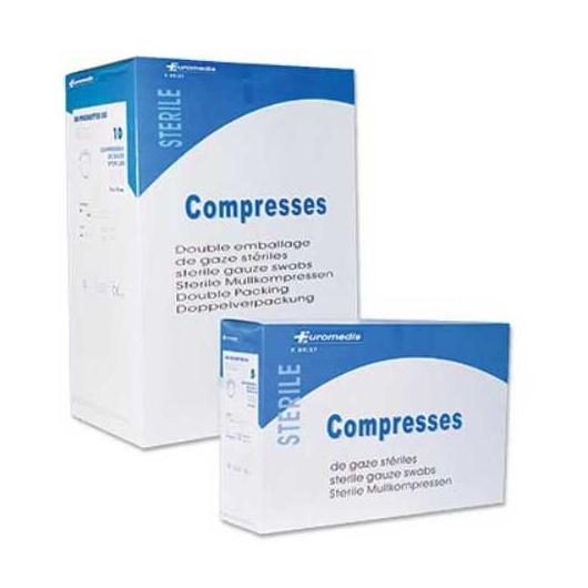 compresse-gaze-stérile-tisse-euromedis