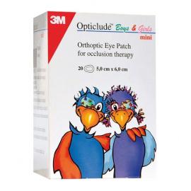 Pansements 3M Opticlude pour enfant (Boîte de 20)