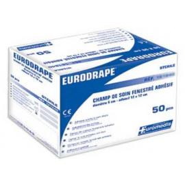 Champs de soins stériles fenestrés adhésifs (boite de 50)