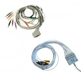 Câbles patients originaux pour ECG Fukuda