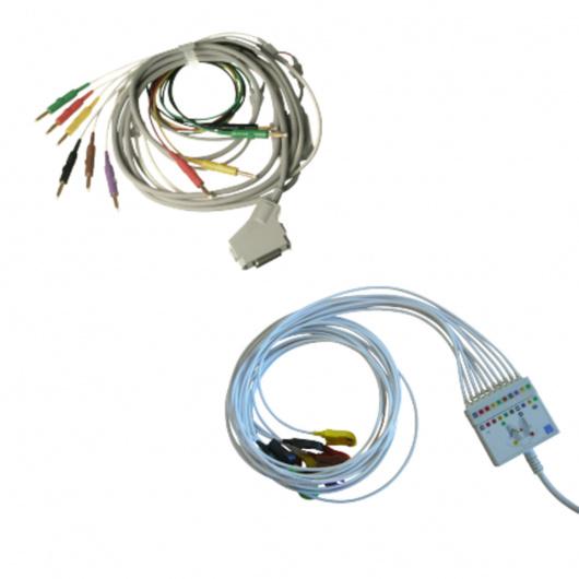 Câbles-patients-originaux-pour-ECG-Fukuda