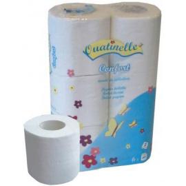 Papier toilette blanc Ouatinelle Confort (96 Rouleaux)