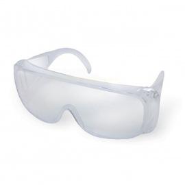 Sur-lunettes de protection en polycarbonate (Lot de 5)