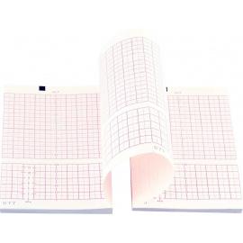 Papier pour cardiotocographes Edan F2 et F3 original (20 liasses)