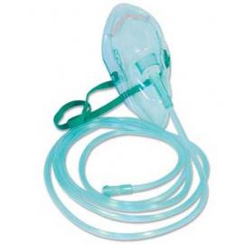 Masques à oxygène avec tubulure - Adulte (Carton de 50)