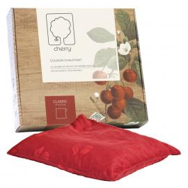 *Coussin chauffant Cherry en noyaux de cerises (Déstockage)