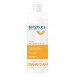 Lot de 2 Huiles de massage et de soin Rivadouce (500 ml)