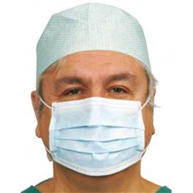 Lot de 100 masques respiratoires haute filtration 3 plis (2 x boite de 50)
