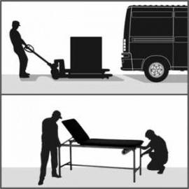 Prestation installation pour mobilier de 100 kg à 150 kg