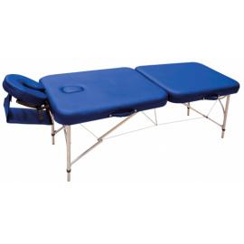 Table de massage pliante Super Light en aluminium avec appui-tête