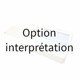 Option interprétation pour ECG Fukuda FX-8200 Cardimax FX-8200 - 6 pistes