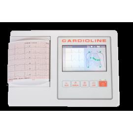 Electrocardiographe ECG Cardioline 100L avec interprétation - 3 ou 6 Pistes