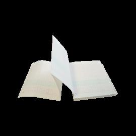 Papier Echelle 30 BPM pour Cardiotocographe Gémellaire Luckcome Leto 8 (10 liasses)
