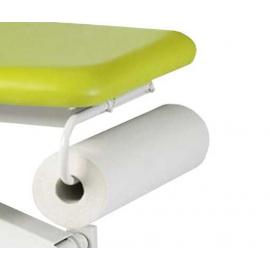 Porte rouleau pour divan ou fauteuil d´examen Ecopostural