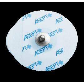 Electrodes ECG rondes à pression Medico 250961 - connecteur en acier inox (lot de 1200)