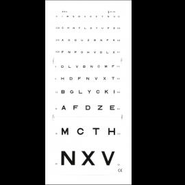 *Test de vision de loin Monoyer - 3 mètres