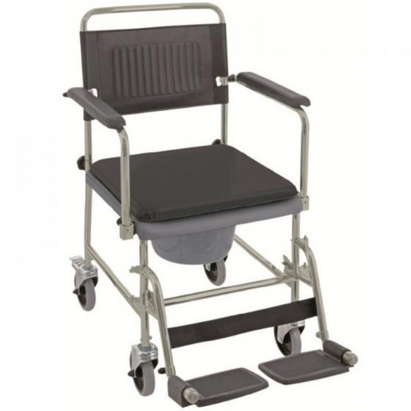 fauteuil garde robe toilette perc roulettes. Black Bedroom Furniture Sets. Home Design Ideas