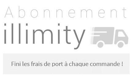 Abonnez-vous pour bénéficier de la livraison Colissimo à 0€ pendant 1 an !